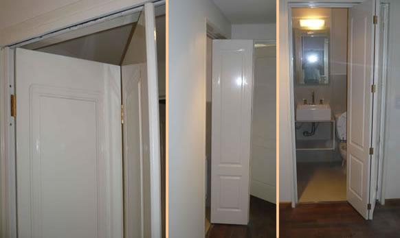 Fabrica de puertas plegadizas y rebatibles en madera y - Tipos de bisagras para puertas ...