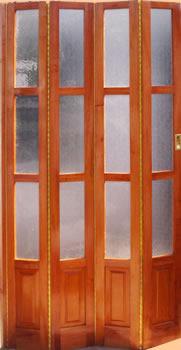 Fabrica de puertas plegadizas y rebatibles en madera y - Fabrica de puertas plegables ...